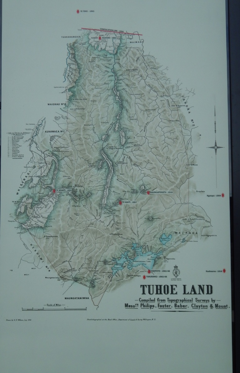 'The Map of Tuhoe Land