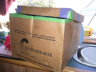 The Wonder-Box that's seen Better Days.